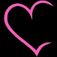 Herz offen pink Liebe Heart Love Paare Verliebt