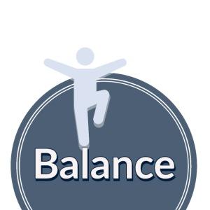 Balance blue