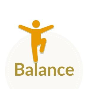 Balance berge yellow