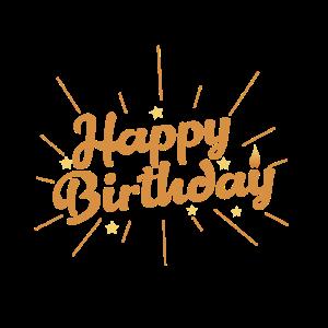 Happy Birthday Geburtstagsschriftzug