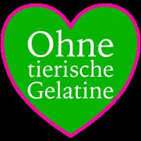 Herz - Ohne tierische Gelatine