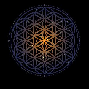 Heilige Geometrie Blume des Lebens Muster der Schöpfung