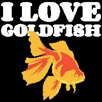 Ich liebe Goldfische