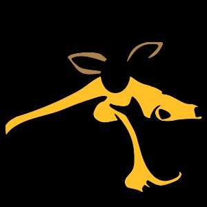 gelbes Pferd, Vektor