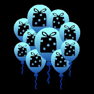 Geburtstag Geburtstagsgeschenk Luftballons Feier