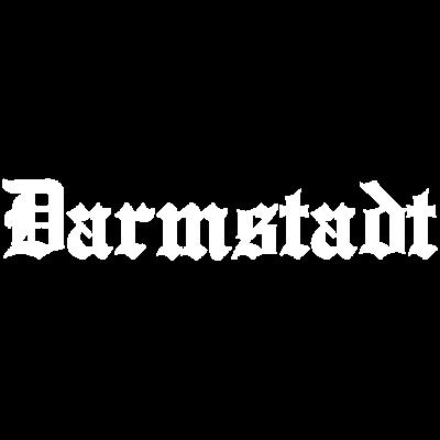 DARMSTADT white - Schriftzug DARMSTADT für Dein T-Shirt oder Hoodie. - Darmstadt,Stadt,deutsch,Stadtteil,Deutschland
