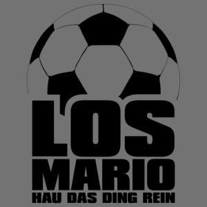 Fodbold - Go Mario, Hau ting rene (sort)