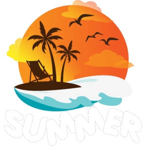 Strand Sommer Sonne Liegestuhl Geschenkidee