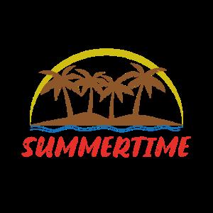 Summertime Summer Palms Sommer Sommerzeit Insel