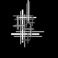 Linien Gitter Schwarz Weiß Abstrakt