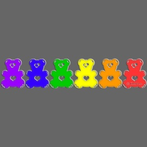 Bärenlust Regenbogen Bären-Reihe