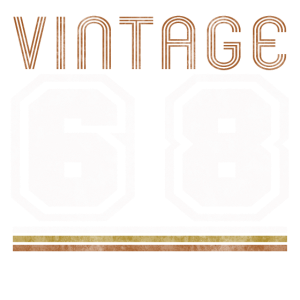 vintage geburtsjahr 68