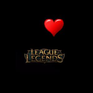 League of Legend Gaming Liebe Geschenk Idee