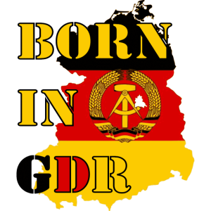 born in GDR