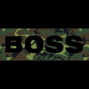 Boss Shirt Tshirt Tarnmuster