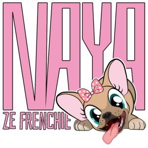 NAYA ZE FRENCHIE Logo