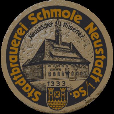 Stadtbrauerei Schmole Neustadt - Ein Deckel der ehemaligen Stadtbrauerei Schmole Neustadt. - Osterzgebirge,Brauerei,sächsische Schweiz,Pilsner,Bier,Deckel,Sachsen,DDR,Nostalgie,Schmole,Neustadt