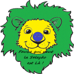 Lion supporter Brésil