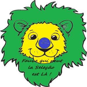 Lion supporter Brésil