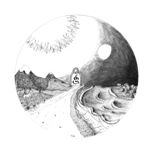 Kausalität (weiß, für dunkle Hintergründe)