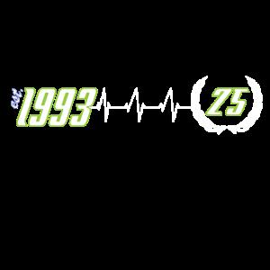1993 / 25. Geburtstag / 25 Jahre / 25 years