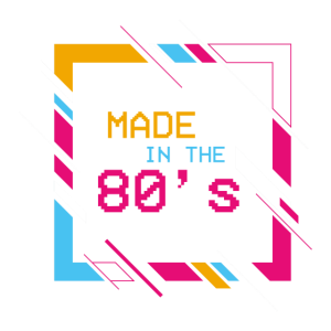 Made in the 80's - 80er Jahre Kind | retroshirt