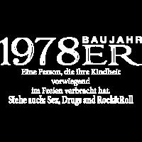 1978er Geburtstags Shirt