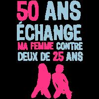 50 Jahre Jubiläum am 2. Februar Frau Swap