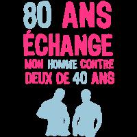 80 Jahre Jubiläum Austausch Mann 2. April