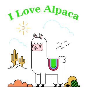 Ich liebe Alpaka - ALPACA LOVE