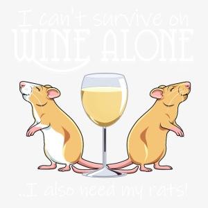 Wine Alone Rats