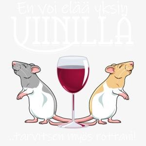 Yksin Viinillä Rottani
