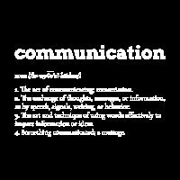 Kommunikation Definition Erklärung Wordart