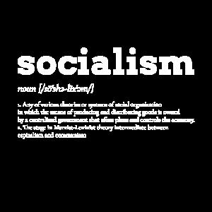 Sozialismus links Politik gegen rechts Geschenk