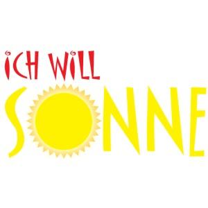 Ich will Sonne