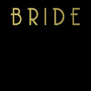 Bride Gold Shirt - Junggesellinnenabschied JGA