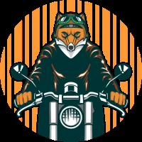 Bad Guy Biker Fuchs