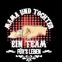 Mama & Tochter Shirt Familie Stolz Liebe T-Shirt