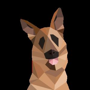 Hund Schäferhund Vektor