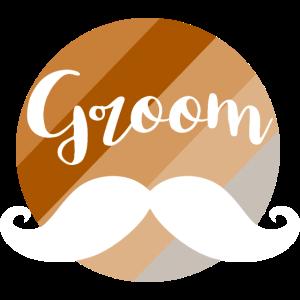 Groom mustache