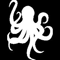 Oktopus Tintenfisch Logo