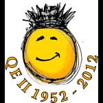 QE II Jubilee smiley