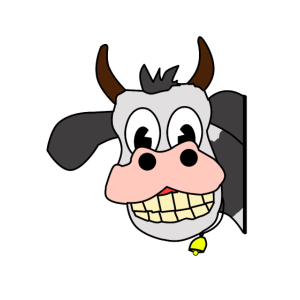 Da hat die Kuh gut grinsen. Ehrentag der Kuh