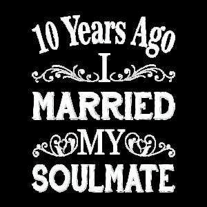 Hochzeit Jahrestag 10 Jahre Seelenverwandter Liebe