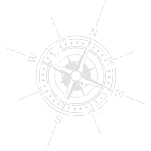 Kompass weiß
