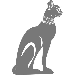 Altägyptische Katze BASTET