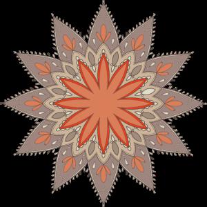 Mandala Kunst Henna