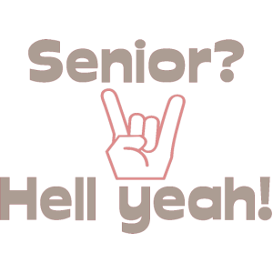 Funny Senior Design Senioren Rock