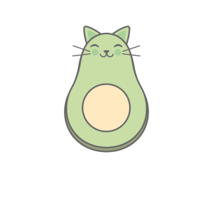 Avocato Avocado Katze Mieze Miau Schnurren