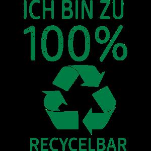 100% Recycelbar